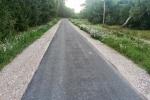 Atnaujintas ir praplatintas dviračių takas Neringoje